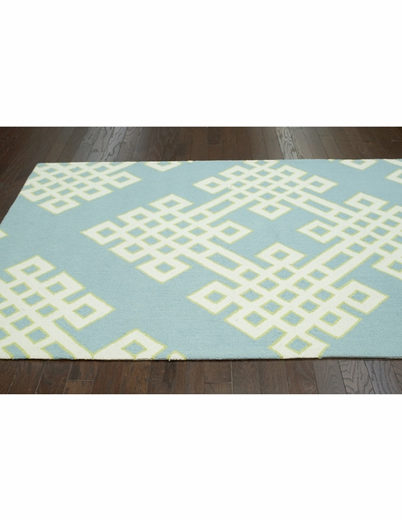 Infinite Rug in Baby Blue