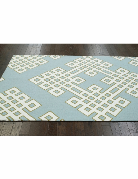 Infinite Rug in Blue