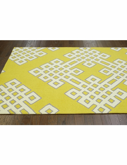Infinite Rug in Gold