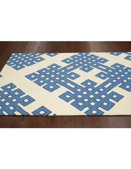 Infinite Rug in White