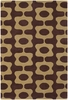 Inhabit Mod Rug in Brown