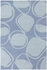 Inhabit Pod Rug in Light Blue