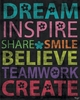 Inspire Me - Dream Canvas Wall Art