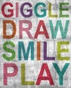 Inspire Me - Giggle Canvas Wall Art