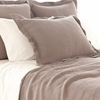 Interlaken Fossil Matelasse Coverlet