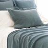 Interlaken Juniper Matelasse Coverlet