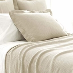 Interlaken Sand Matelasse Coverlet