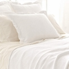 Interlaken White Matelasse Coverlet