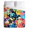 Invasion Fleet Duvet Cover