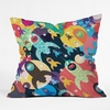 Invasion Fleet Throw Pillow