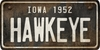 Iowa Custom License Plate Art