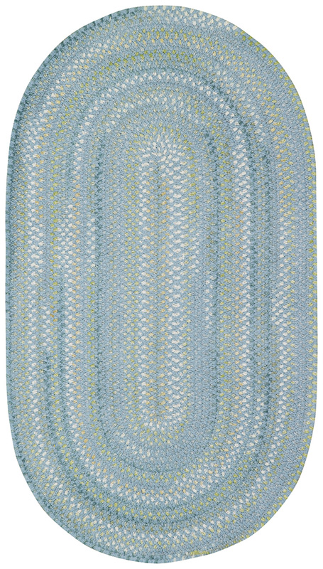 Iridescence Rug In Medium Blue By Capel Rugs