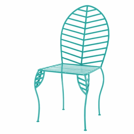 Iron Leaf Chair