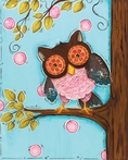 It is a Hoot Canvas Reproduction