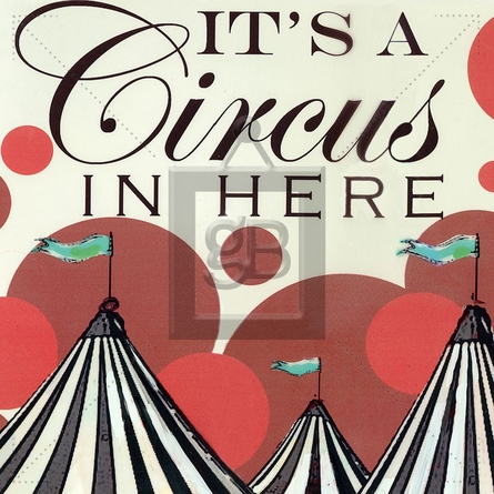 It's a Circus in Here Canvas Wall Art