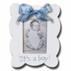 Its A Boy Scallop Sky Picture Frame