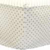 Itsy Bitsy Dots in Lilac Crib Sheet