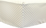 Itsy Bitsy Dots in Lilac Crib Sheet $(+54.00)