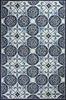 Ivory and Blue Serendipity Rug