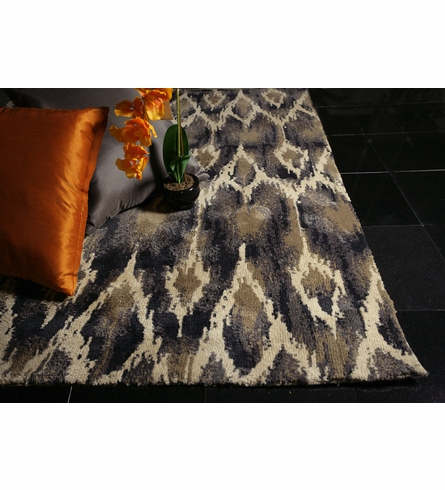 Ivory and Grey Horizon Rug