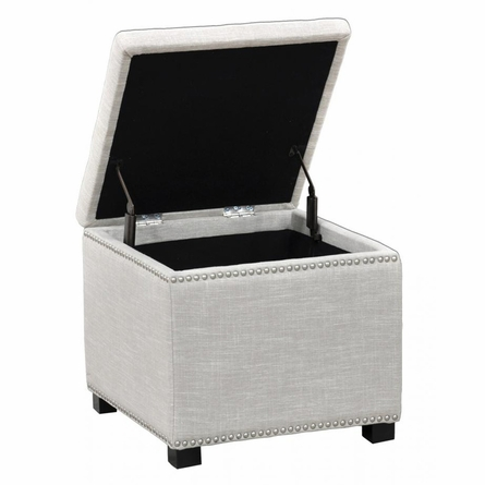 Ivory Collina Square Storage Cube