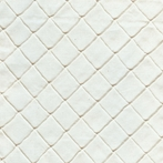 Ivory Diamond Pintuck Upholstery Fabric by the Yard