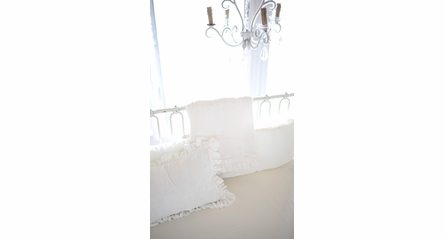 Ivory Sateen Crib Sheet