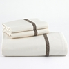 Ivory Sheet Set with Brody Trim