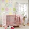 Ivory White Baby Dot Wall Decals