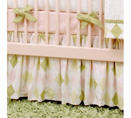 Prep School Pink Crib Bedding Set