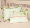 Prep School Pink Decorative Pillow