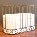 J'Adore Convertible Crib-Cradle Gold
