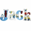 Jack's Trucks Hand Painted Wall Letters