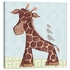 Jackson Giraffe in Blue Canvas Reproduction
