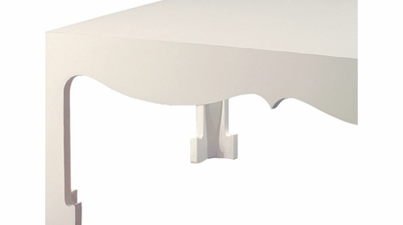 Jacqui Coffee Table - White