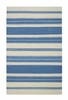 Jagges Stripe Rug in Blue