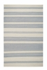 Jagges Stripe Rug in Steel Grey
