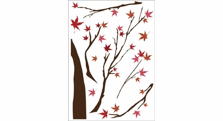 Japanese Maple Tree Wall Decals
