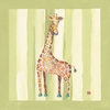 Jay the Giraffe Canvas Reproduction