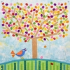 Jellybean Tree Canvas Wall Mural