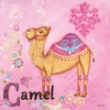 Jewel Camel Canvas Reproduction