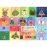Jill McDonald Placemats - Birthday Theme - Set Of Four