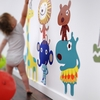 Jiving Jungle Pals Fabric Wall Decals