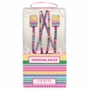 Jonathan Adler Architectural Borders Earbuds with Decorative Cord