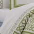 Jonathan Adler Green Parish Sheet Set - Twin