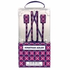 Jonathan Adler Iron Gate Earbuds with Decorative Cord