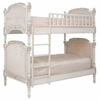 Josephine Bunk Bed in Versaille Creme and Empress Pink