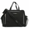 Ju Ju Be - Be Prepared Diaper Bag in Black Silver