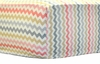 Jubilee Small Chevron Crib Sheet
