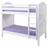 Jules Curved Panel Medium Bunk Bed
